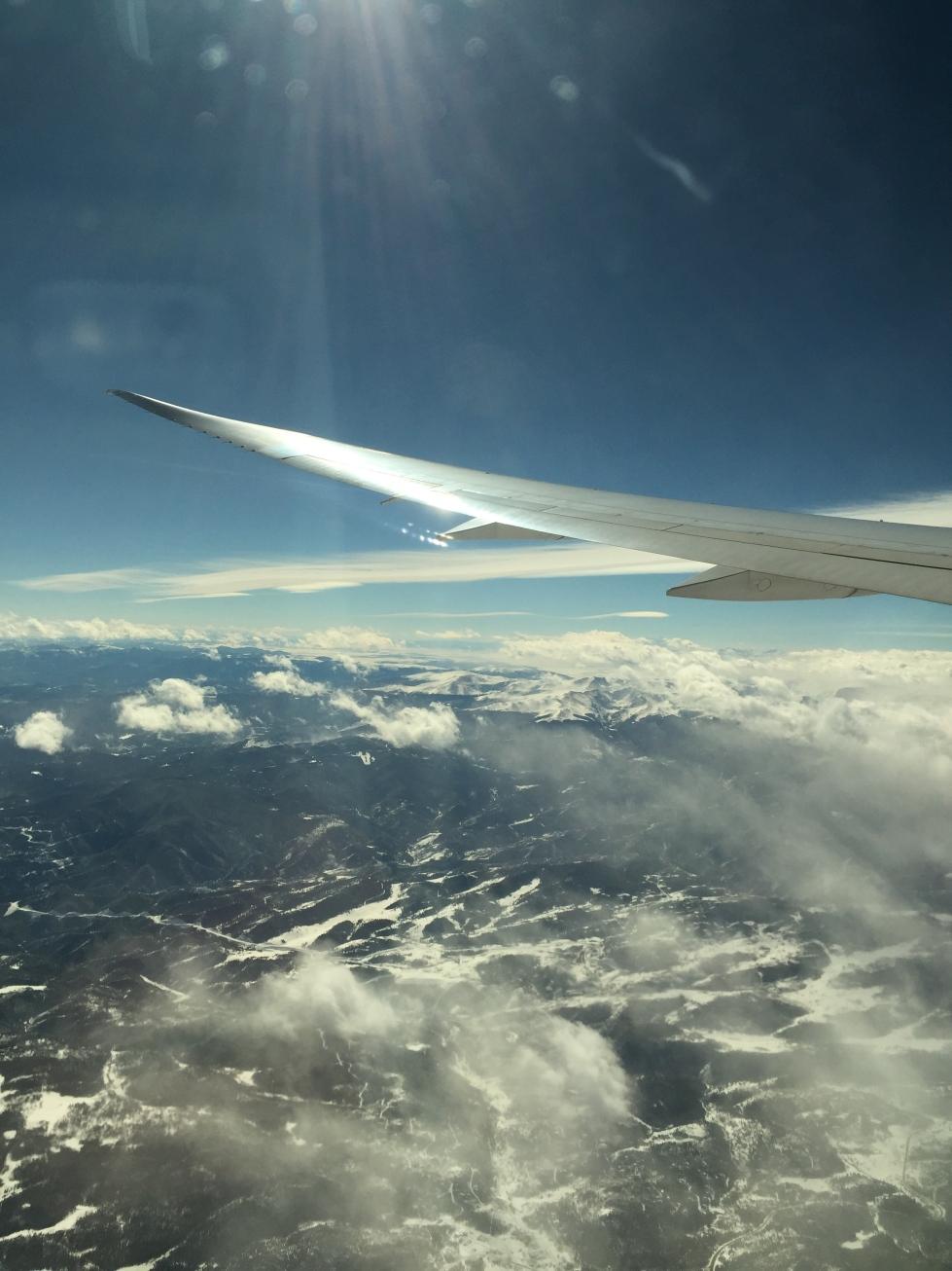 Leaving Denver, CO.