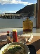 Dinner along the river