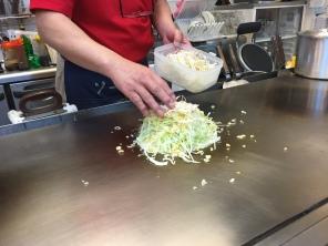 Okonomiyaki: Step 1