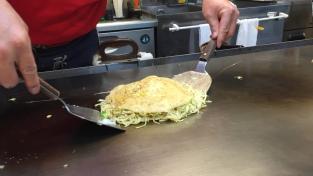 Okonomiyaki: Step 3