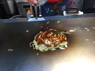 Okonomiyaki: Step 4