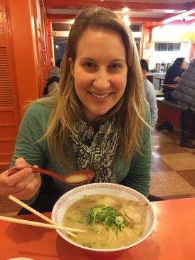 Eating Ramen!