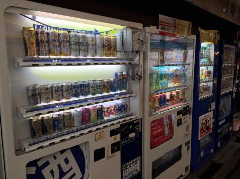 Vending machine beer